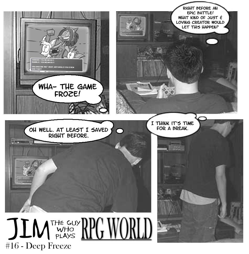 Jim #16 - Deep Freeze
