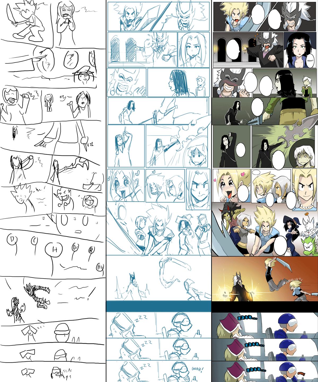 Comic Evolution (Filler)